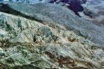 Das Spaltengewirr im Eisbruch des Tschiervagletschers