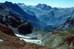 Ehemalige Gletscherzunge und Moränensee des Blümlisalpgletschers