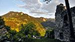 Schieferstein von Ruine Losenstein