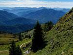 Foto von 2013 mit Panasonic DMC FX-10: Olperer, Karwendel vom Weg zur Rotwand