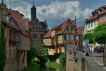 Historische Altstadt von Marktbreit in Unterfranken (DMC TZ71)
