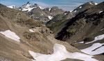 Blick nach Norden zur Fluchthorngruppe der östl. Silvretta