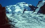 Die 600 m hohe Eisflanke der Blümlisalp
