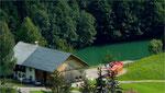 Der Seewaldsee-Bummelzug. An heißen Tagen lohnt Hin- und Rückfahrt zum See