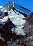 Der Altels mit seiner Gletscher-Nordflanke und -Westflanke