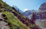 Aufstieg zum Oberhornsee