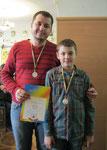 ІІ місце (Бурилко Дмитро з татом)