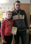 ІІІ місце (Радченко Іванна з хрещеним)