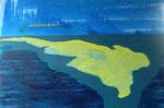 Gelbe Insel 93x62 cm  2007