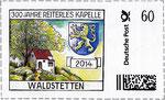 Briefmarke 300 Jahre Reiterles Kapelle Waldstetten