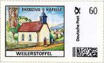 Briefmarke Patrizius Kapelle Weilerstoffel
