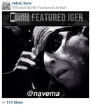 'incognito' (shot in nyc) featured by rebels united worldwide black & white: http://instagram.com/p/SEYqAaTavF/