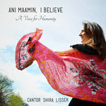 Cantor Shira Lissek (shot in Central Park, NYC): https://shiralissek.bandcamp.com/album/ani-maamin-i-believe-a-voice-for-humanity