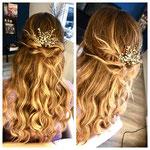Braut Haarschmuck #Hochzeits Haarschmuck #Handgefertigtes Haarschmuck #Haar Stecker