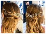 Braut Haarschmuck #Hochzeits Haarschmuck #Handgefertigtes Haarschmuck #Haar Kranz