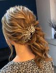 Braut Haarschmuck #Hochzeits Haarschmuck #Handgefertigtes Haarschmuck #Perlen Scmuck