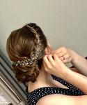 Braut Haarschmuck #Hochzeits Haarschmuck #Handgefertigtes Haarschmuck #Braut Haarkranz
