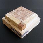スタック(重ねられる) 出来るヒノキの木箱付