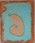 Snails house, 30x24, canvas 2020
