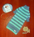 Теплый свитерок из детской полушерсти