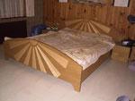 Schlafzimmer Eiche / Ahorn massiv