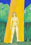 ohne Titel, Aquarell, 1997, DIN A 4