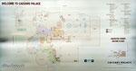 Karte des Ceasars Palace