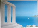 Reminiscence (Acrylique sur toile  - 96 x 130)