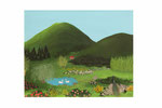 Jardin de rêve (Acrylique sur toile - 32 x 40)