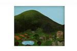 Jardin de rêve (Acrylique sur toile - 32 x 40 )