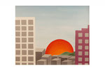 Entre terre et ciel (Acrylique sur toile - 55 x 70)