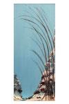 Chinoiserie (Gouache sur toile - 61 x 27)