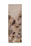 Chinoiserie (Gouache sur toile - 27 x 9 )