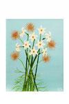 Arrangement floral (Acrylique sur toile - 42 x 43 )