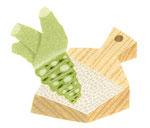 食品イラスト/ワサビとおろし器