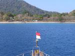 Richtung Satonda Island