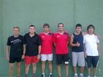Finalistas Jose-Juan,Luis-Sergio,Daniel-Nacho
