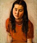 久子像 1946年 H53×45.5 F10 キャンヴァス、油彩