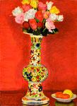 薔薇(万暦) 1974年 H73×53 P20 キャンヴァス、油彩