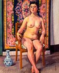 裸婦 1957年 H91×73 F30 キャンヴァス、油彩