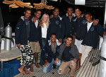 some of the crew from Blue Waves - yes yes one day we get them ALL together and will have a picture.