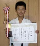 エキスパート・トーナメント重量級 優勝: 横田闘極