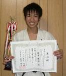 エキスパート・トーナメント超重量級 優勝:田中颯也