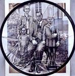 Familienbild 1,  100 x 100 cm