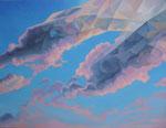 Wolken 1, 100 x 70 cm