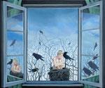 Ausblick1, Ölfarbe auf Leinwand, 50 x 60 cm