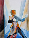 Tanz 2, Aquarell, 50 x 40 cm