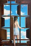 Alice, 2012, 100 x 70 cm