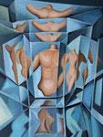 Spiegelungen 3, 80 x 60 cm