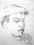 Thomas, Stift, 30 x 30 cm